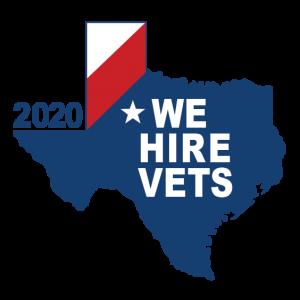 We Hire Vets 2020 Award