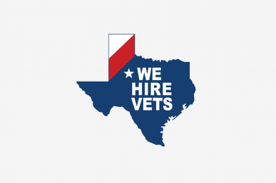 """Workforce Solutions Capital Area Recognized for Commitment to Hiring Veterans with Third """"We Hire Vets"""" Award"""