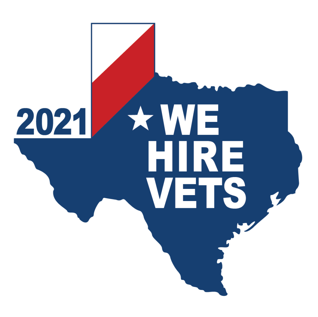 We Hire Vets 2021 Award