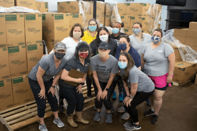 Workforce Solutions Capital Area and Bank of America Support Travis County's Child Care Providers with Donations of Cleaning and PPE Supplies